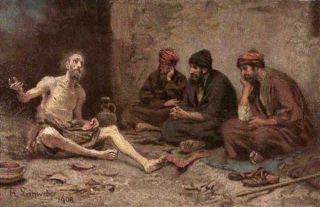 Праведный Иов: образ надежды через страдание.