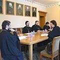 Проректор академии принял участие в заседании подгруппы по выработке общецерковного образовательного стандарта