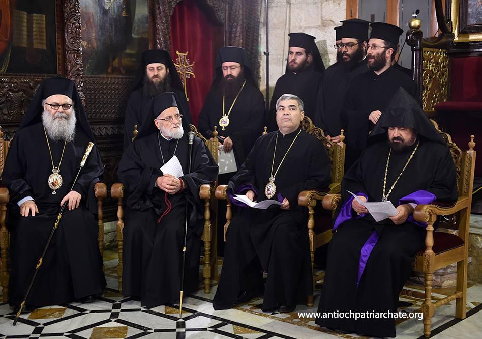 В надежде на Воскресение. Совместное заявление Антиохийского и Сирийского патриархов