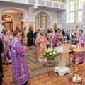 В канун праздника Крестовоздвижения епископ Амвросий совершил бденную службу в академическом храме