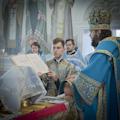 В праздник Успения Пресвятой Богородицы ректор СПбДА возглавил служение литургии и совершил священническую хиротонию