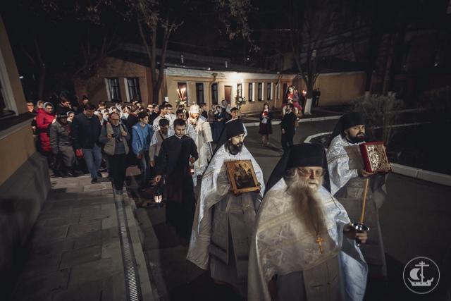 Духовная Академия встретила Пасху Христову