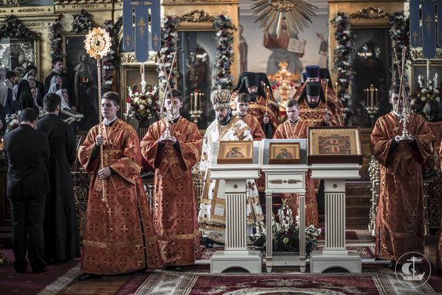 Студенты Духовной Академии вернулись с пасхальных каникул