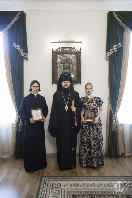Студент Духовной Академии получил благословение набрак
