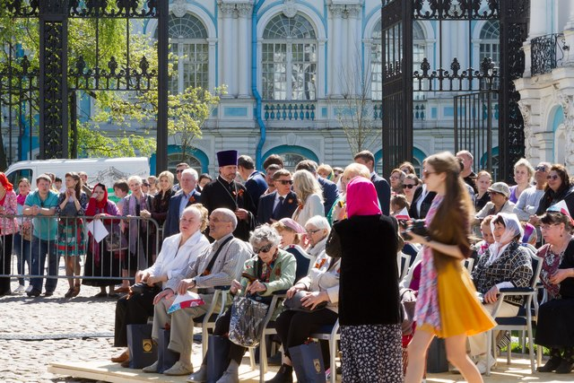 Смешанный хор Духовной Академии принял участие в фестивале «Песня Победы»