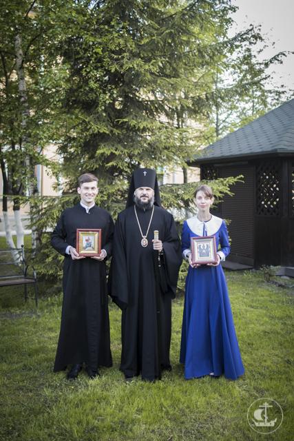 Студент бакалавриата и воспитанница Регентского отделения Духовной Академии получили благословение на супружество
