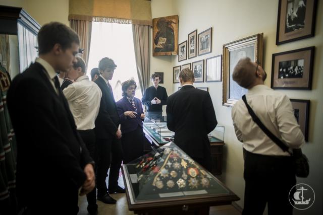 Духовную Академию посетил мужской хор Покровского храма г. Киркконумми