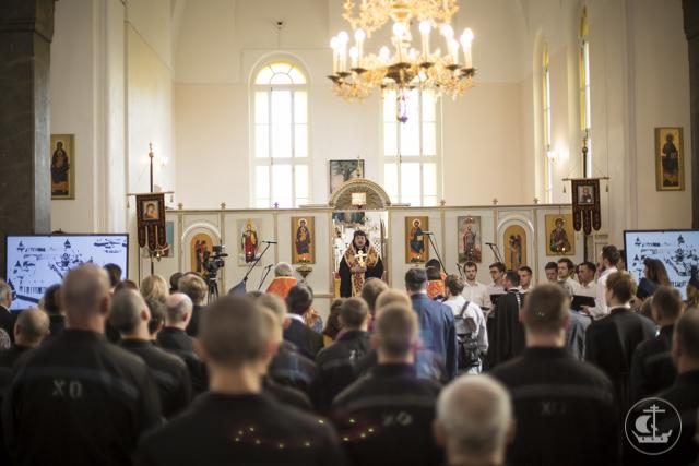 В Пасхальном фестивале, прошедшем в СИЗО №1 «Кресты» приняли участие преподаватели и студенты Духовной Академии