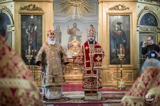 Магистрант Духовной Академии рукоположен в сан диакона в престольный праздник академического храма