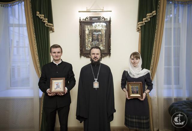 Студент бакалавриата получил благословение на супружество