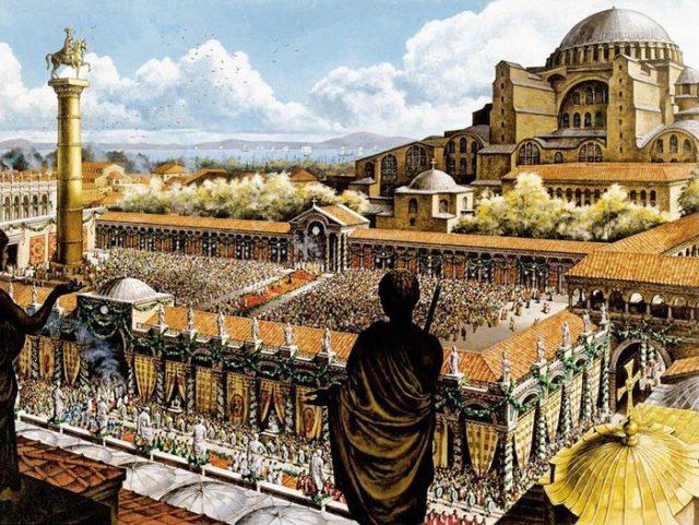 Константинополь — столица империи
