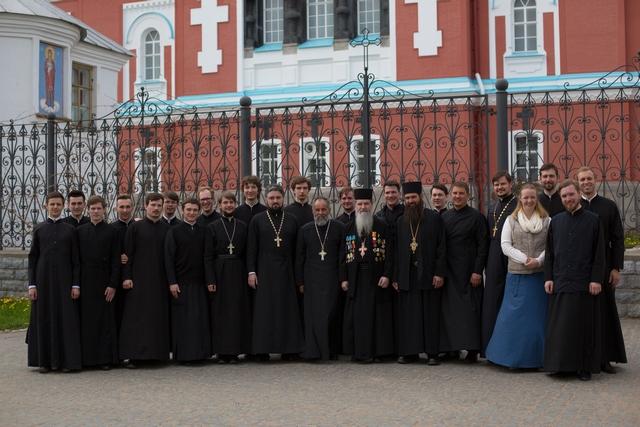 Проректор и студенты Духовной Академии совершили паломническую поездку на ВалаамПроректор и студенты Духовной Академии совершили паломническую поездку на Валаам