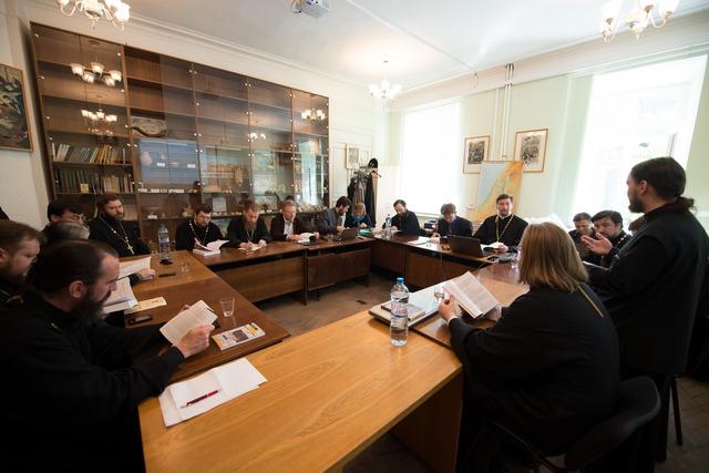 Заведующий и секретарь кафедры библеистики приняли участие в конференции в  Московской духовной академии