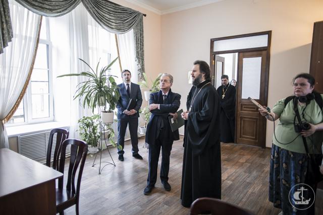 Церковь и культура. Духовную Академию с официальным визитом посетил директор Государственного Эрмитажа