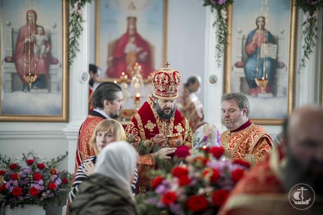 Ректор и студенты Духовной Академии приняли участие в торжествах 25-летия одной из самых молодых обителей России