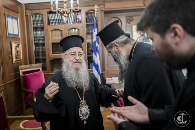 Паломники из Санкт-Петербургской Духовной Академии посетили святыни трех митрополий Элладской Православной Церкви