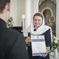 Президент фонда «Доброхот» выразила благодарность студентам Духовной Академии