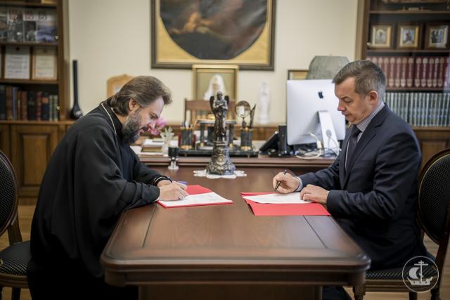 Госпиталь для ветеранов войн и Санкт-Петербургская Духовная Академия заключили договор о сотрудничестве