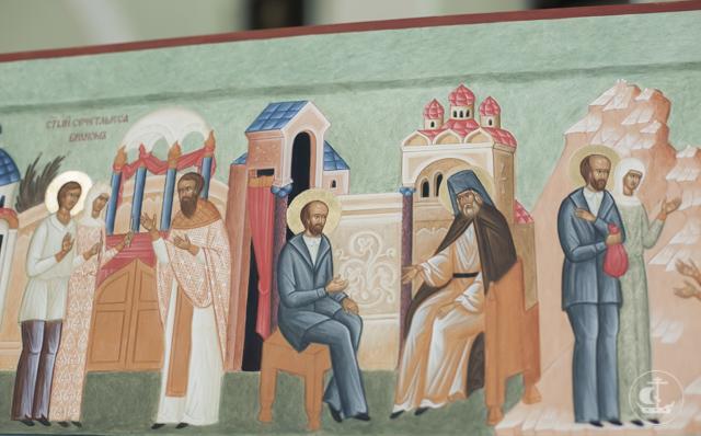 Анна Голубева: На Иконописное отделение поступала с мыслью написать образ преподобного Серафима Вырицкого