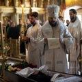 Архиепископ Амвросий в Московской Духовной Академии совершил отпевание солиста хора Сретенского монастыря Петра Гудкова