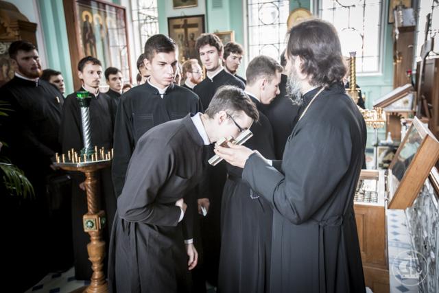 Магистранты посетили святые места города на Неве