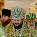 Архиепископ Амвросий сослужил Святейшему Патриарху Кириллу в Даниловом монастыре