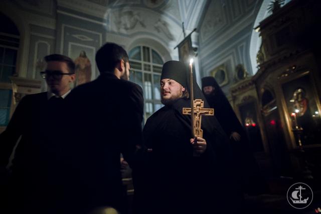 Студент магистратуры Духовной Академии принял монашеский постриг