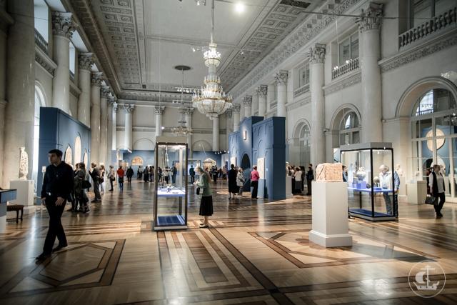 Ректор Духовной Академии принял участие в закрытии византийской выставки в Эрмитаже