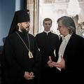 Ректор Академии принял участие в закрытии византийской выставки в Эрмитаже
