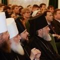 Архиепископ Петергофский Амвросий принял участие в богослужениях в Троице-Сергиевой Лавре и в конференции в МДА
