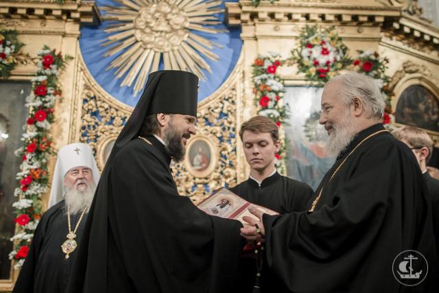 В канун празднования 70-летия возрождения Санкт-Петербургской Духовной Академии в домовом храме прошло торжественное всенощное бдение