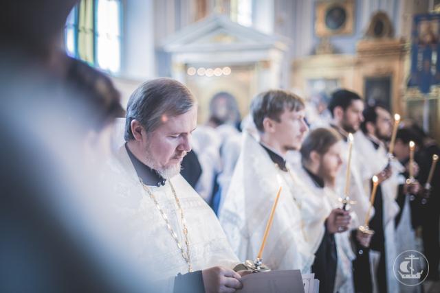 В Духовной Академии прошла панихида по всем начальствовавшим, учившим и учившимся