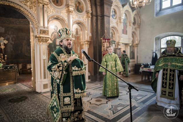 Архиепископ Амвросий возглавил престольные торжества в Троице-Сергиевой пустыни