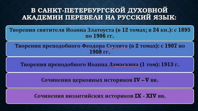 Д.А. Карпук. Богословская наука вСанкт-Петербургской Духовной Академии:позавчера, вчера, сегодня и …