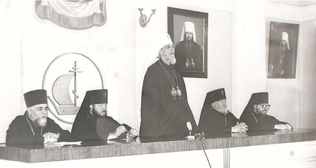 Исполнилось 50 лет со дня назначения ректором Духовной академии протоиерея Михаила Мудьюгина (будущего архиепископа Михаила)
