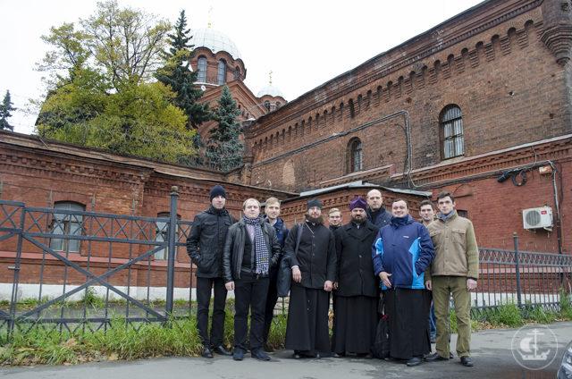 В День милосердия и сострадания к заключенным студенты Академии посетили СИЗО«Кресты»