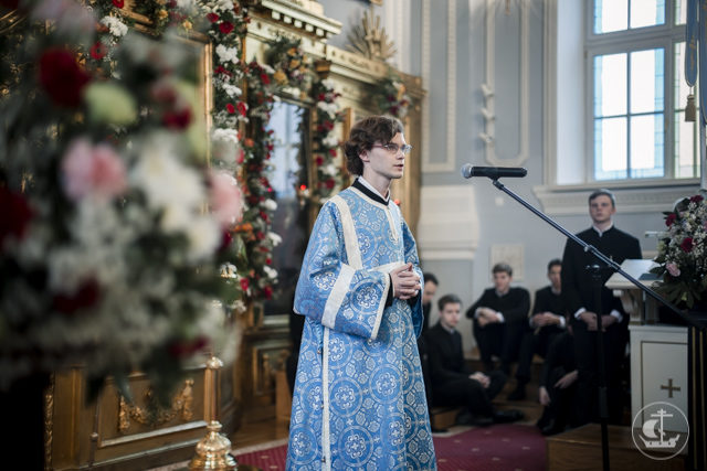 Духовная Академия встречает праздник Покрова Пресвятой Богородицы