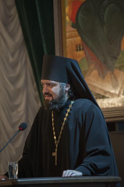 Иеромонах Марк (Святогоров) принял участие в престольном празднике и актовом дне Московской духовной академии