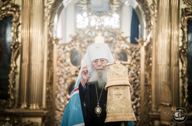Архиепископ Амвросий поздравил митрополита Владимира (Котлярова) с днем тезоименитства