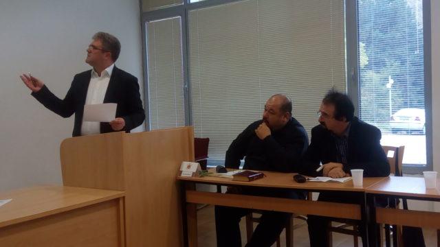 Заведующий кафедрой библеистики принял участие в конференции в Македонии