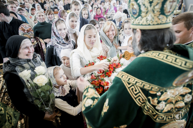 125-летие преставления преп. Амвросия Оптинского было отмечено в Духовной Академии праздничной Литургией и хиротонией
