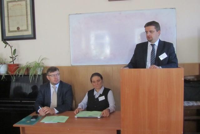 Заведующий аспирантурой принял участие в работе Международной научно-практической конференции в Киеве