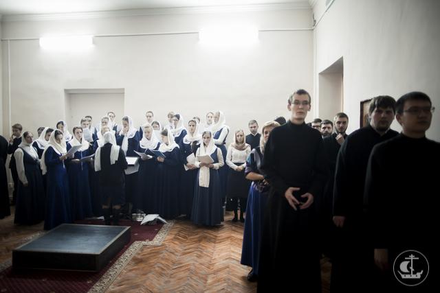 В Академии прошли богослужения 19-ой Недели по Пятидесятнице