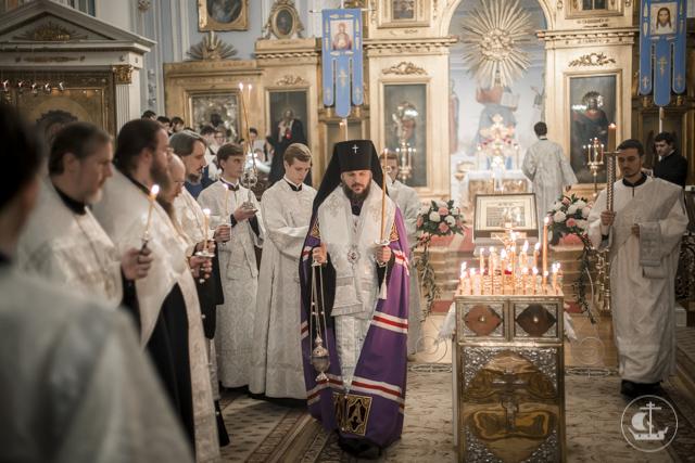 Накануне Дмитриевской родительской субботы в Академии совершен парастас