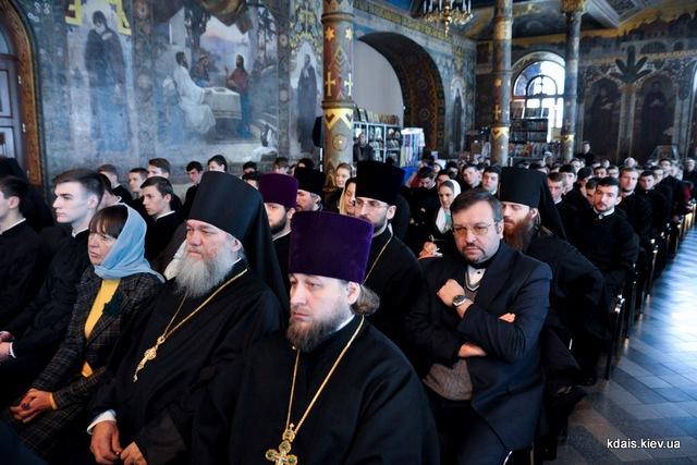 Преподаватель Санкт-Петербургской Духовной Академии принял участие в годичном акте КДА