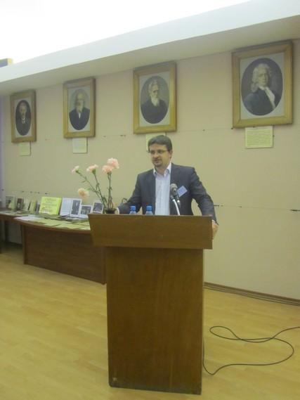 Заведующий и студенты аспирантуры приняли участие в Международных научно-практических Петербургских чтениях