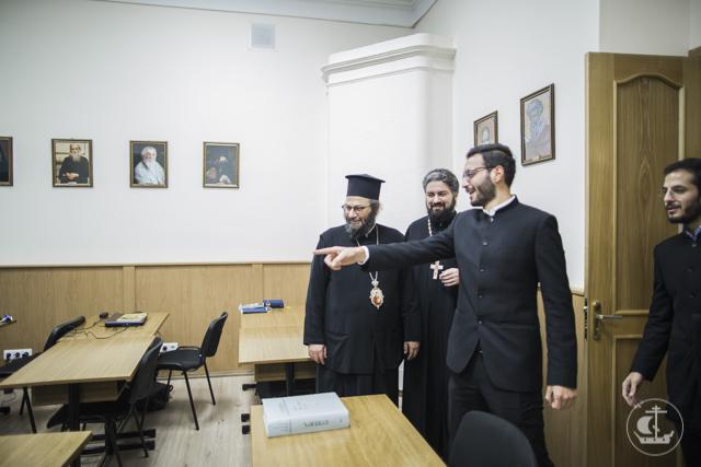 Иерарх Антиохийской Православной Церкви посетил Духовную Академию