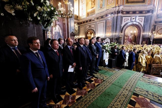 Ректор Академии принял участие в торжествах по случаю 70-летия Святейшего Патриарха Московского и всея Руси Кирилла