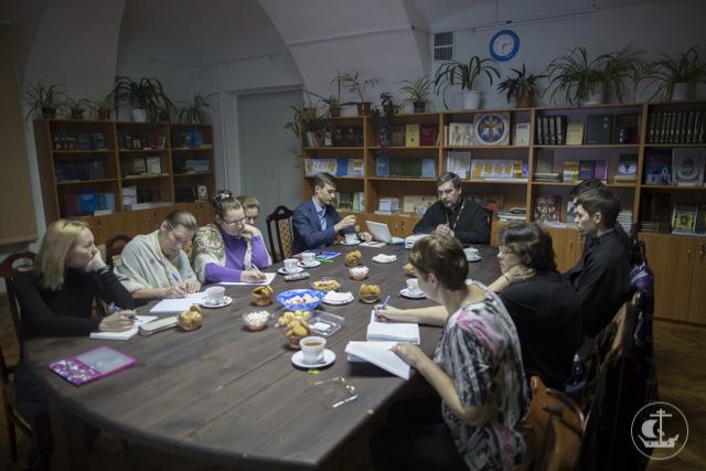 Состоялось первое в этом учебном году заседание Византийского кабинета