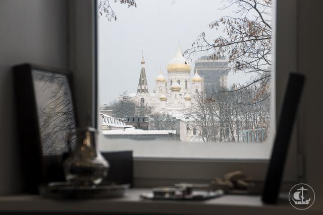 Архиепископ Амвросий возглавил престольные торжества в храме Свято-Владимирской школы